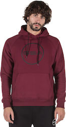 GSA Supercotton Hoodie Logo Victorious Red 17-18105-47