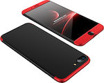 OEM 360 Full Cover Black / Red (iPhone 8/7 Plus)