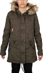 Superdry Heavy Weather Rookie Fishtail Green