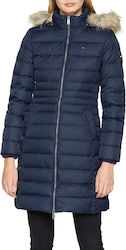 Tommy Hilfiger Essential Hooded Down Navy
