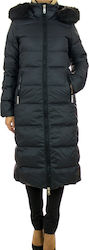 Tommy Hilfiger Puffer Down Coat Black