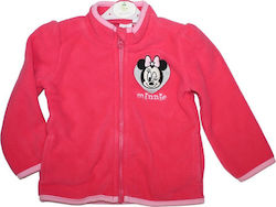 Disney Baby Minnie Mouse βρεφική ζακέτα Fleece (HQ0100)