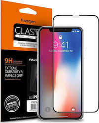 Spigen GLAS.tR Full Face Tempered Glass (iPhone X / XS / 11 Pro)