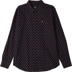 OBEY Screw LS Shirt - Black Multi - 181200240