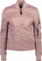 Alpha Industries MA-1 VF Silver Pink
