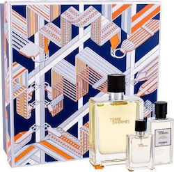 Hermes Terre D´hermes Edt 100ml , After Shave 40ml & Edt 12.5ml