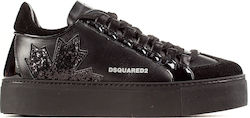 Dsquared Sneakers -Black (Αθλητικά Γυναικείο Leather Black - W18SNW002089400001/M084)