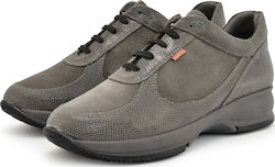 Γυναικεία Sneakers Ragazza 0261 leather Grey