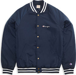 Champion Reverse Weave Satin Bomber Jacket 212614-BS501