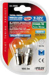 Lampa P21W Mega-Led 16 White 9-32V 2τμχ