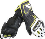 Dainese Carbon D1 Long Black/White/Fluo-Yellow