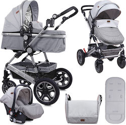 Lorelli Bertoni Lora Set 3 in 1 10021281838 Grey