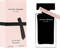 Narciso Rodriguez For Her Eau de Toilette 75ml Limited Edition