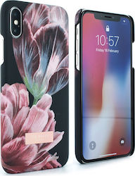 Ted Baker Soft Feel Hard Chippit Tranquility Black (iPhone X / Xs)