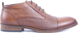 MBERTO CASUAL LEATHER BOOTS ΤΗΣ COXX BORBA - ΜBERTO 611.03 ΤΑΜΠΑ