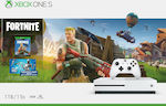 Microsoft Xbox One S 1TB Fortnite Bundle