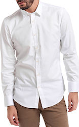 CLASSIC SLIM FIT SHIRT ΤΗΣ ANTONY MORATO - MMSL00476/FA400042 ΑΣΠΡΟ