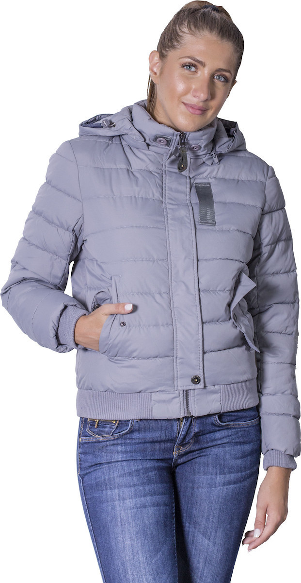 Biston 38 101 034 μπουφάν grey MDSfashion