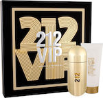 Carolina Herrera 212 VIP Set Eau de Parfum 80ml & Body lotion 100ml