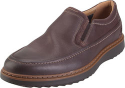 Clarks Un Geo Step 26136789 Dark Tan Leather
