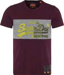 Superdry Vintage Logo 1st Panel Bordeaux