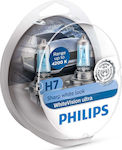 Philips H7 WhiteVision Ultra 12V 2τμχ