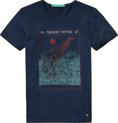 Scotch & Soda Mixed Artwork 136488-0155 Navy