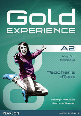 GOLD EXPERIENCE A2 ACTIVE TEACH Iworkbook SOFTWARE
