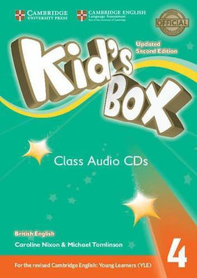 KID'S BOX 4 CD CLASS UPDATED 2nd edition
