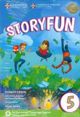STORYFUN 5 Student 's Book (+ HOME FUN BOOKLET & ONLINE ACTIVITIES) (FOR REVISED EXAM FROM 2018 - FLYERS) 2nd edition