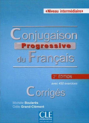 CONJUGAISON PROGRESSIVE DU FRANCAIS INTERMEDIAIRE CORRIGES 2nd edition