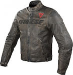 Dainese Vintage Leather Jacket Black