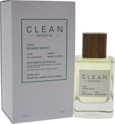 Clean Beauty Clean Reserve Smoked Vetiver Eau de Parfum 100ml