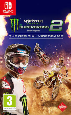 Monster Energy Supercross: The Official Videogame 2 Switch