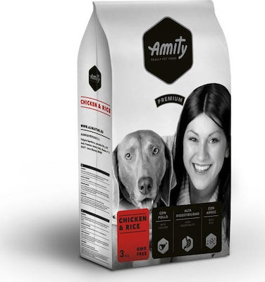 Amity Premium Chicken & Rice 3kg