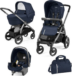 Peg Perego Book 51 S Titania Elite Modular 3 in 1 Telescopic Handle Sportivo Class Navy