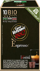 Vergnano Nespresso Bio Coffee 10caps