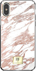 Richmond & Finch Back Cover Rose Gold Marble (iPhone X / Xs)
