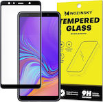 Wozinsky Full Glue Case Friendly Tempered Glass Black (Galaxy A7 2018)