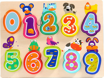 Animals Numbers 10pcs (120325) TopBright