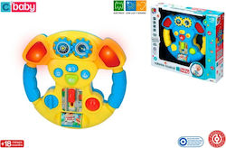 Colorbaby Steering Wheel with Lights & Sound