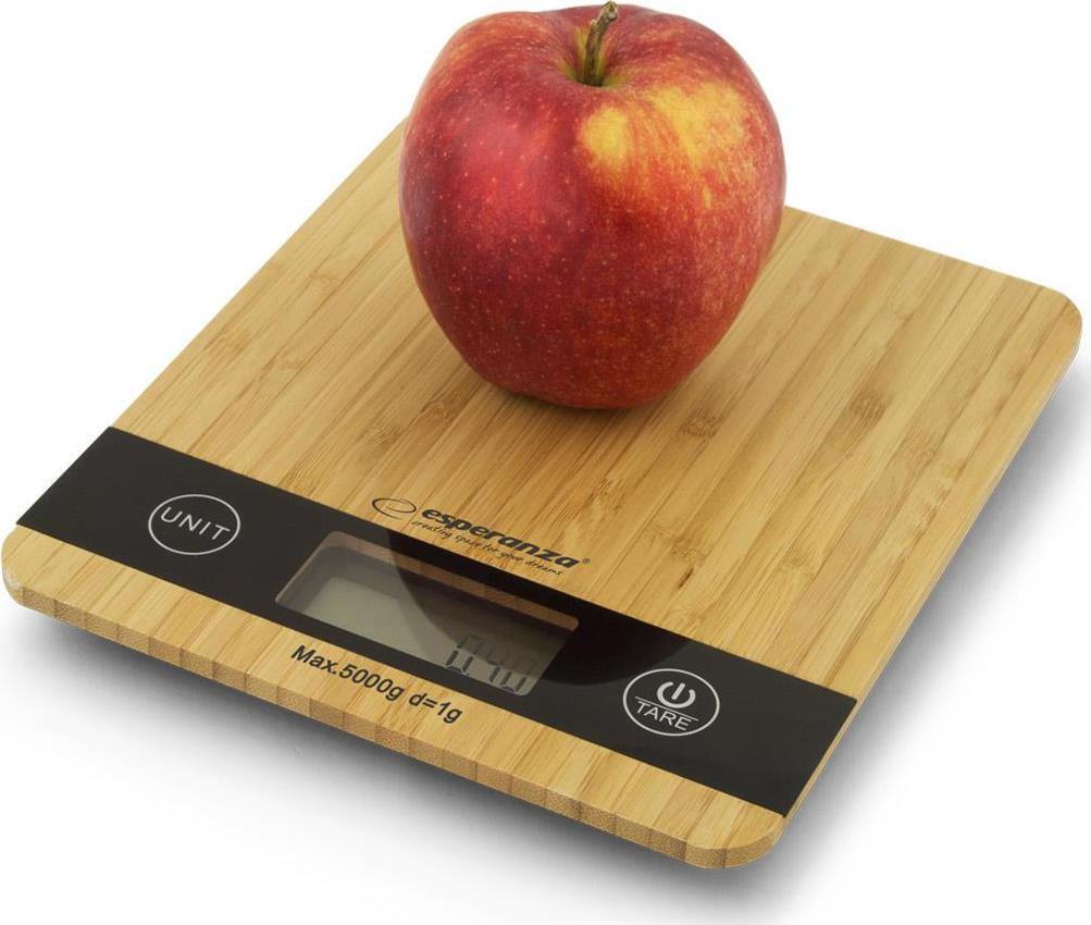 Esperanza EKS005 Ψηφιακή Ζυγαριά Κουζίνας 5kg (EKS005) - Πληρωμή και σε έως 36 Δόσεις!!!
