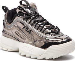 Fila Ασημί Γυναικεία Παπούτσια | New Shoes.gr
