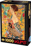 Gustav Klimt Lady with a Fan 2D 1000pcs