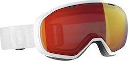 Scott Fix Goggle 267603 White/Red Chrome