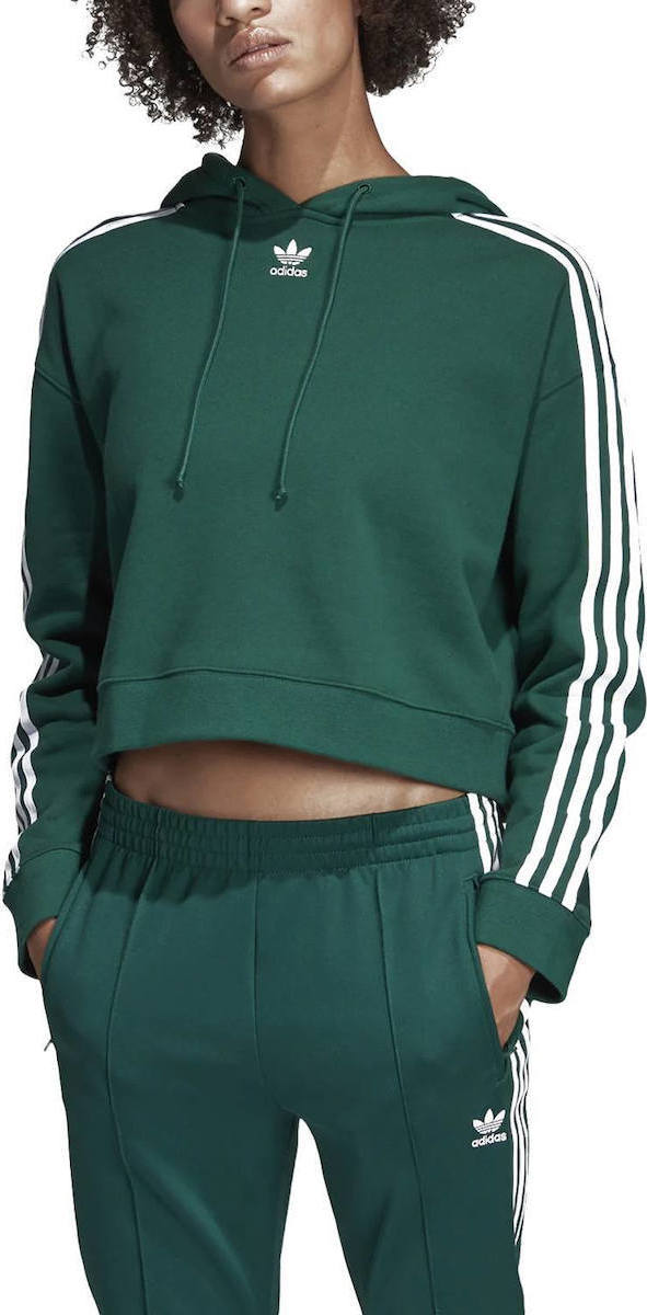 size 40 58a4d 0ed3f Adidas Cropped Hoodie DX2159