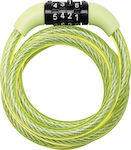 Master Lock 8143 Combination Cable Lock Green