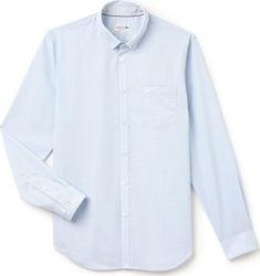 ανδρικα πουκαμισα μακρυμανικα λευκα - Ανδρικά Πουκάμισα Lacoste ... c6f4a5099e3