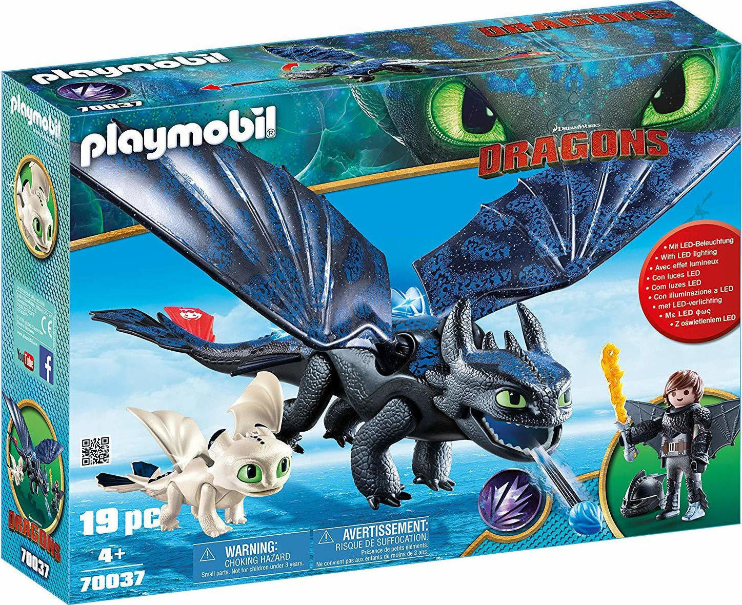 6156339ec20 Προσθήκη στα αγαπημένα menu Playmobil Dragons: Hiccup And Toothless With  Baby Dragon