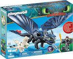 Playmobil Dragons: Hiccup And Toothless With Baby Dragon